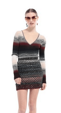Missoni Short dresses Kate&You-ID9353