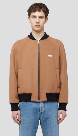 Куртки бомбер - Msgm для МУЖЧИН онлайн на Kate&You - 2940MH29X 207521 - K&Y9609