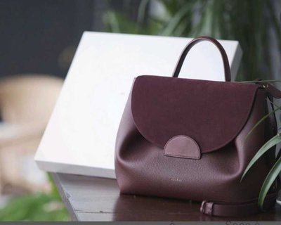 Тоуты - Polene для ЖЕНЩИН Polene Paris signature bag burgundy онлайн на Kate&You - Polene Paris 3 Bordeau - K&Y1748