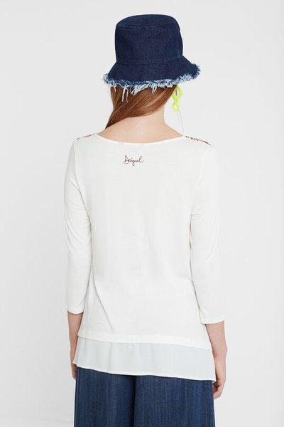 Desigual - T-shirts pour FEMME online sur Kate&You - 19WWTK781001 K&Y2583