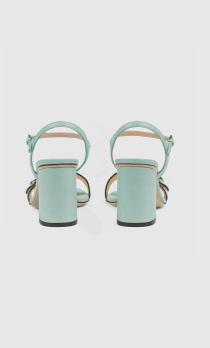 Gucci - Sandali per DONNA Sandales à talon moyen online su Kate&You - 628012 A3N00 3926 K&Y8348