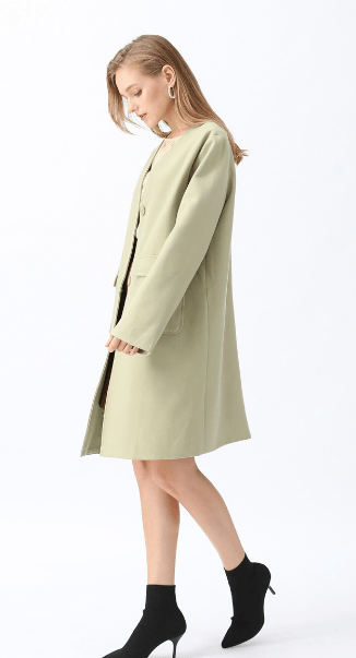 Chicwish - Cappotto monopetto per DONNA online su Kate&You - T191026009 K&Y7482