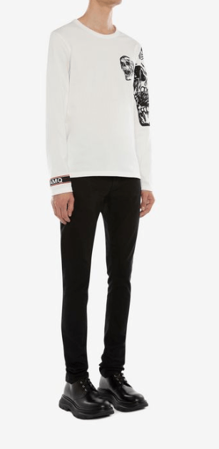 Alexander McQueen - T-shirts & canottiere per UOMO online su Kate&You - 599567QOZ690900 K&Y7765