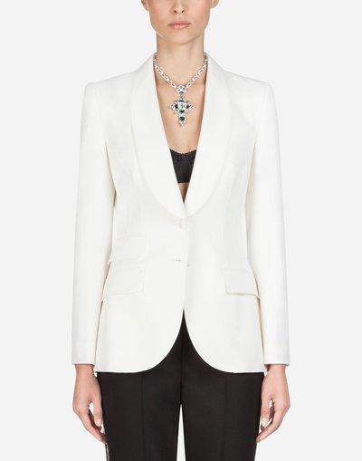 Dolce & Gabbana - Giacche aderenti per DONNA online su Kate&You - F295TTFUCCSW0001 K&Y2039