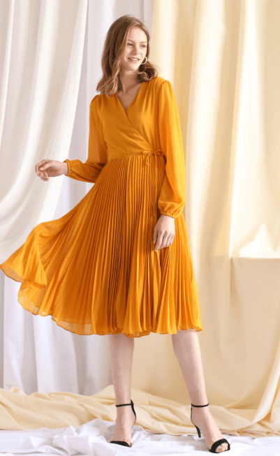 Платья средней длины - Chicwish для ЖЕНЩИН онлайн на Kate&You - D200123006 - K&Y7376