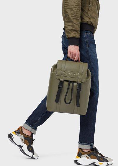 Рюкзаки и поясные сумки - Emporio Armani для МУЖЧИН онлайн на Kate&You - Y4O219YSL5J182265 - K&Y3719