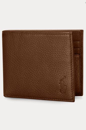 Ralph Lauren - Portefeuilles et Porte-documents pour HOMME Portefeuille en cuir online sur Kate&You - 271154 K&Y8545