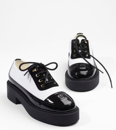 Chanel Lace-up Shoes Kate&You-ID11397