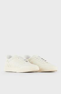 Кроссовки - Giorgio Armani для ЖЕНЩИН Sneakers en cuir avec logo estampé онлайн на Kate&You - X1X026XF463100137 - K&Y8350
