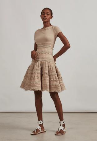Azzedine Alaia - Robes Courtes pour FEMME online sur Kate&You - AA9R2110CM593 K&Y10125