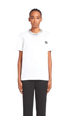 Prada - T-shirts per DONNA online su Kate&You - 3531AR_1XQU_F0OHW_S_202 K&Y9531