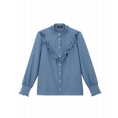 A.P.C. - Chemises pour FEMME online sur Kate&You - K&Y748