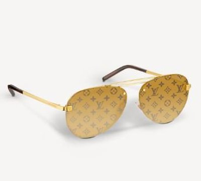 Louis Vuitton Солнцезащитные очки CLOCKWISE Kate&You-ID10989