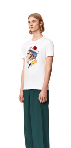 Lanvin - T-shirts & canottiere per UOMO online su Kate&You - RM-JE0047-JR15-H2001 K&Y8730
