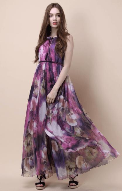 Длинные платья - Chicwish для ЖЕНЩИН онлайн на Kate&You - D20160608022 - K&Y7326