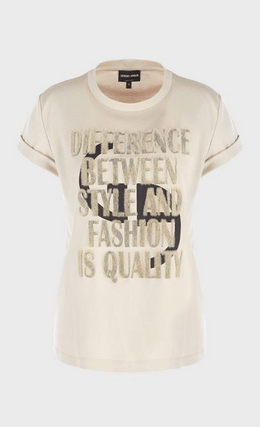Giorgio Armani - T-shirts - for WOMEN online on Kate&You - 6HAM59AJRQZ1U1L6 K&Y8686