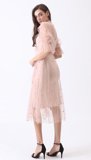 Chicwish - Midi dress - for WOMEN online on Kate&You - D190514007 K&Y7548