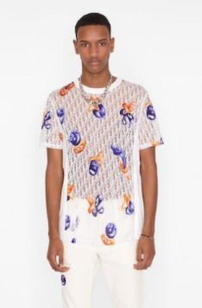 Dior - T-Shirts & Vests - for MEN online on Kate&You - 193J653A0702_C084 K&Y11234