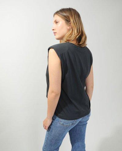 Pimkie - T-shirts - T-SHIRT À ÉPAULETTES BORDEAUX for WOMEN online on Kate&You - 408562824N434010 K&Y11941