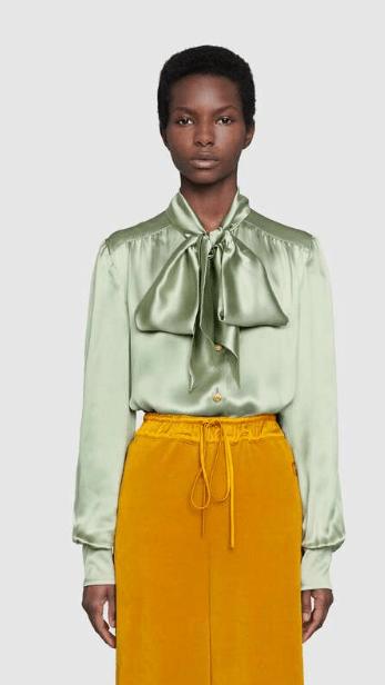 Gucci - Chemises pour FEMME online sur Kate&You - 595160 ZIM67 3770 K&Y6388