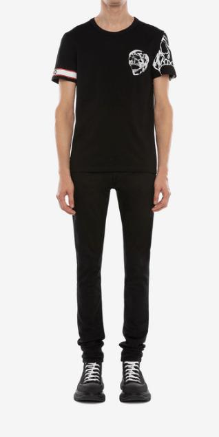Alexander McQueen - T-Shirts & Débardeurs pour HOMME online sur Kate&You - 599566QOZ690901 K&Y7760