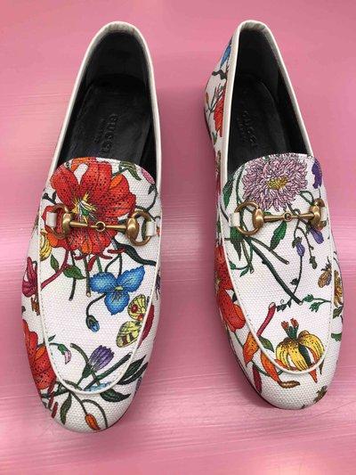 Gucci - Mocassins pour FEMME Mocassins à imprimé fleuri online sur Kate&You - 578428 K&Y1504