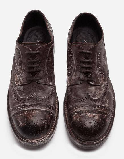 Ботинки на шнуровке - Dolce & Gabbana для МУЖЧИН онлайн на Kate&You - - K&Y9714