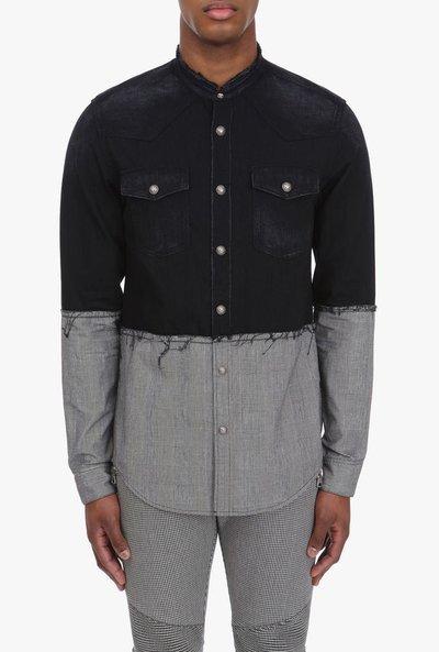 Balmain - Chemises pour HOMME online sur Kate&You - SH02314Z794 K&Y1829