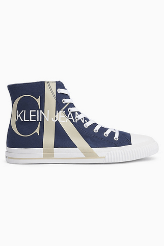 Calvin Klein Trainers Baskets montantes en toile Kate&You-ID8345