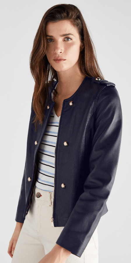 Cortefiel - Leather Jackets - for WOMEN online on Kate&You - 7057385 K&Y7267