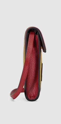 Gucci - Cross Body Bags - Mini-sac en toile à rayures Baiadera for WOMEN online on Kate&You - 625603 2BVAT 8946 K&Y8396