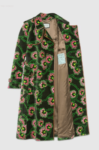 Gucci - Single Breasted Coats - for WOMEN online on Kate&You - 643978 Z8AL6 1067 K&Y10579