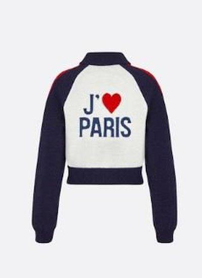 Dior - Bomber Jackets - I LOVE PARIS for WOMEN online on Kate&You - 144V50AM350_X0878 K&Y11192