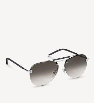 Louis Vuitton Солнцезащитные очки CLOCKWISE Kate&You-ID10990