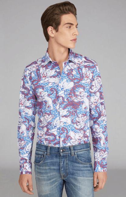 Рубашки - Etro для МУЖЧИН онлайн на Kate&You - 201U1K09462600200 - K&Y7352