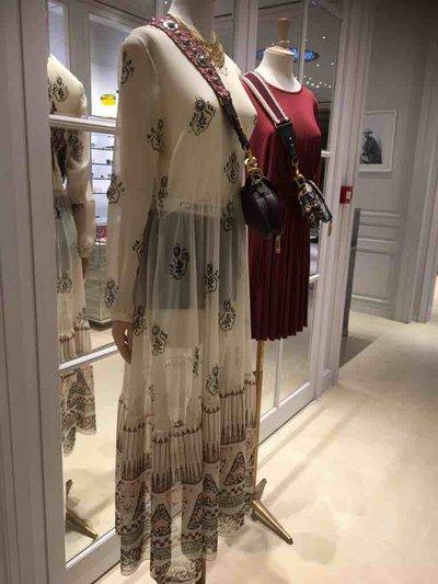 Dior - Vestiti lunghi per DONNA Robe en soie online su Kate&You - P105Q_1U6S_F0030_S_192 K&Y1497