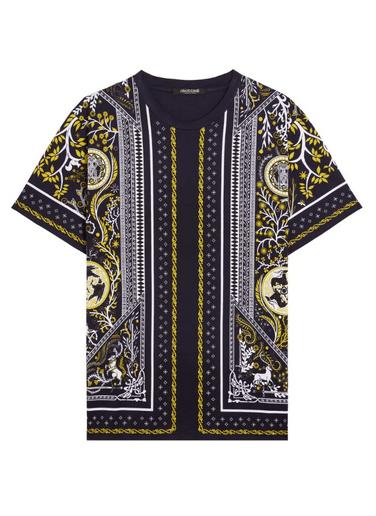 Roberto Cavalli - T-Shirts & Débardeurs pour HOMME online sur Kate&You - LNT6303PZ38T8025 K&Y9116