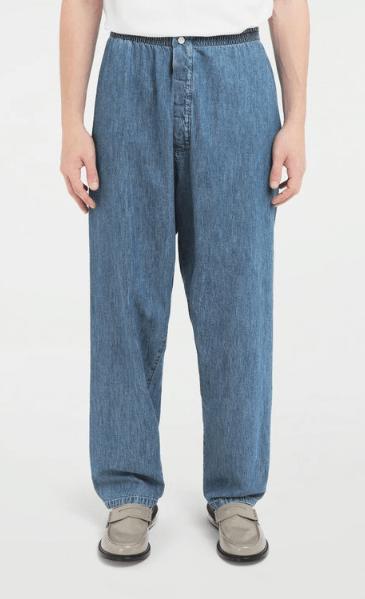 Широкие джинсы - Maison Margiela для МУЖЧИН онлайн на Kate&You - S50KA0511S30514468 - K&Y7587