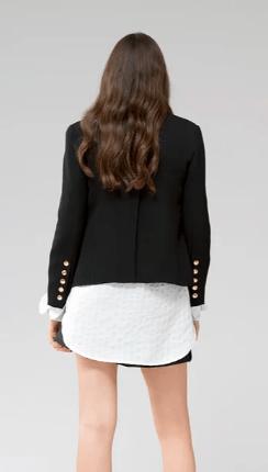 Chloé - Vestes Ajustées pour FEMME online sur Kate&You - CHC21SVE16036001 K&Y10092