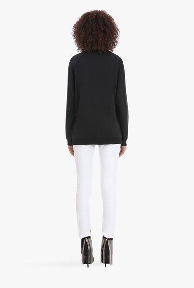 Balmain - Sweats & sweats à capuche pour FEMME online sur Kate&You - SF13602J163GAB K&Y1936