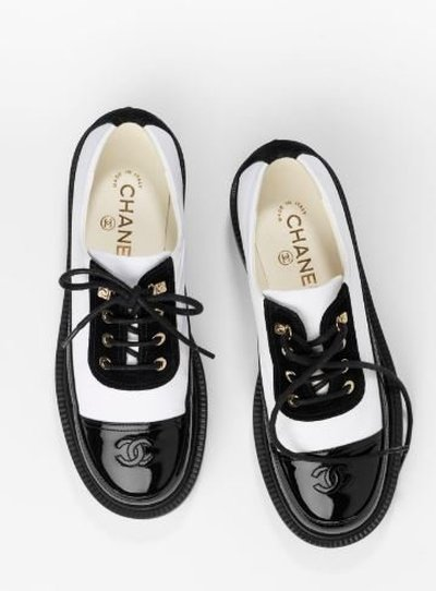 Chanel - Lace-up Shoes - for WOMEN online on Kate&You - G38081 Y55462 K3216 K&Y11397