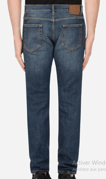 Dolce & Gabbana - Jeans Slim pour HOMME online sur Kate&You - K&Y8780
