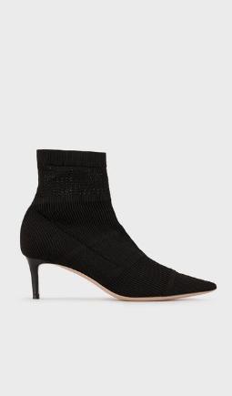Giorgio Armani Stivali Bottines chaussettes en tissu stretch Kate&You-ID8535