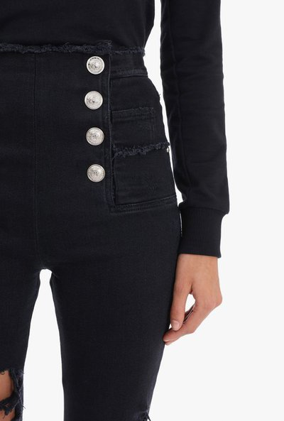 Balmain - Jeans skinny per DONNA online su Kate&You - RF15306D0270PA K&Y2389