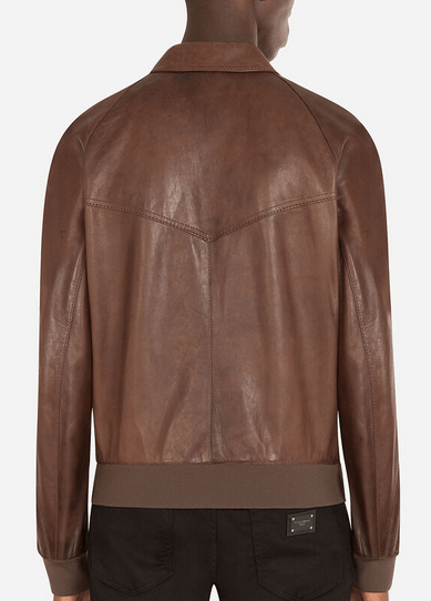 Dolce & Gabbana - Leather Jackets - for MEN online on Kate&You - K&Y9907