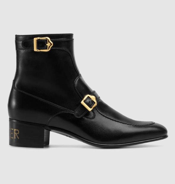 Gucci - Bottes & Bottines pour HOMME online sur Kate&You - 585856 D3V00 1000 K&Y6169