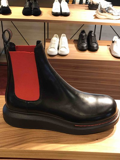 Alexander McQueen - Boots - Chelsea Hybrid for MEN online on Kate&You - 586198WHX521066 K&Y1754