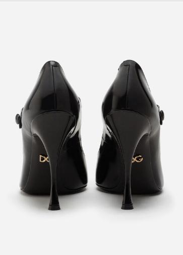 Dolce & Gabbana - Escarpins pour FEMME BABIES EN CUIR DE VEAU BRILLANT online sur Kate&You - CD1026AK90680999 K&Y8583