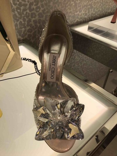 Jimmy Choo Sandales Anilla 70 cristals Pump Kate&You-ID1501