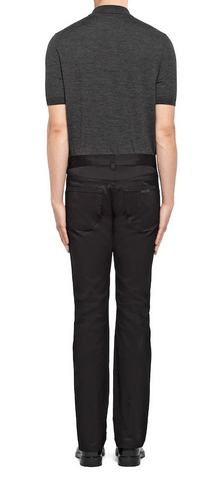 Prada Regular Trousers Kate&You-ID9433